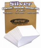 Silver Comic Backing Boards x 1000 Board Box